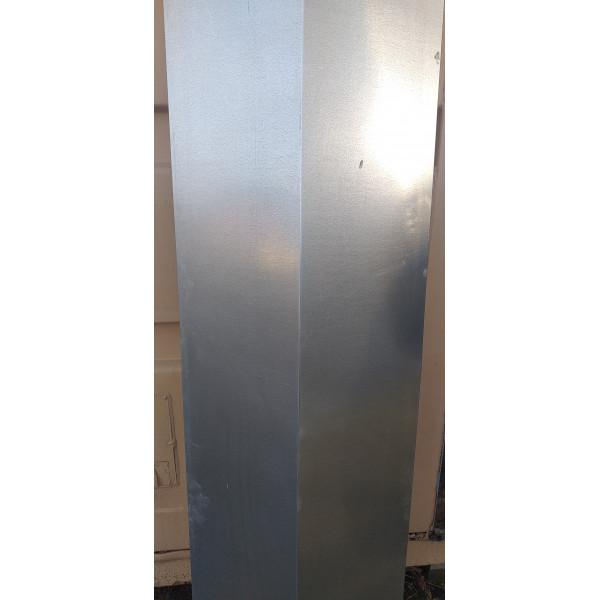 Планка ендовы нижней 300х300 мм, длина 2000 мм, Zn /оцинк./